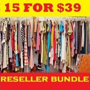 15 items for $39 Free People, Anthropologie Zara..